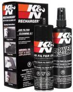 K&N CLEANER RECHARGER FILTER KIT