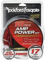 ROCKFORD FOSGATE AMP INSTALLATION WIRING KIT 10AWG
