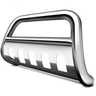 BUMPER BULL BAR STAINLESS STEEL CHROME