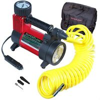 Q Industries HV40A2 SuperFlow 150PSI Portable Air Compressor with LED Light