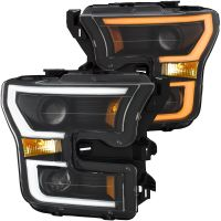 FORD F150 2015-17 ANZO SWITCHBACK HEADLIGHT BLACK