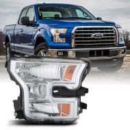 FORD F150 2015-17 HEADLIGHT CHROME
