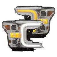 FORD F150 2018-20 ANZO SWITCHBACK HEADLIGHT CHROME