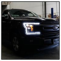 FORD F150 2018-20 HEADLIGHT BLACK