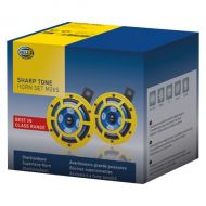 HELLA SUPERTONE YELLOW HIGH/LOW KIT 12V