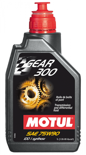 MOTUL GEAR 300 75W90 SYNTHETIC OIL