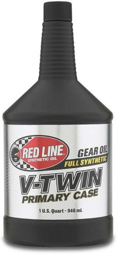 RED LINE SYNTHETIC OIL V-TWIN PRIMARY CASE