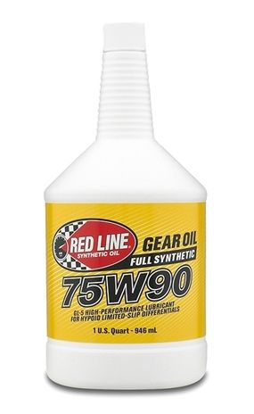 RED LINE SYNTHETIC GEAR OIL 75W90 GL5