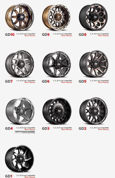 GRID WHEELS
