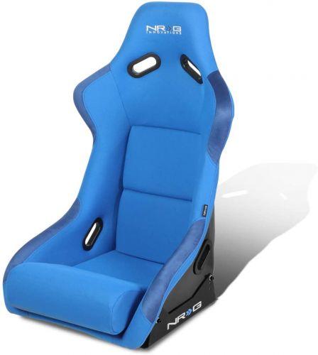 BANC NRG LARGE FIX BUCKET RACING SEAT BLUE