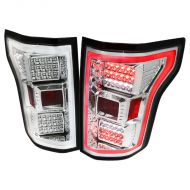 FORD F150 2015-17 LED TAIL LIGHTS CHROME